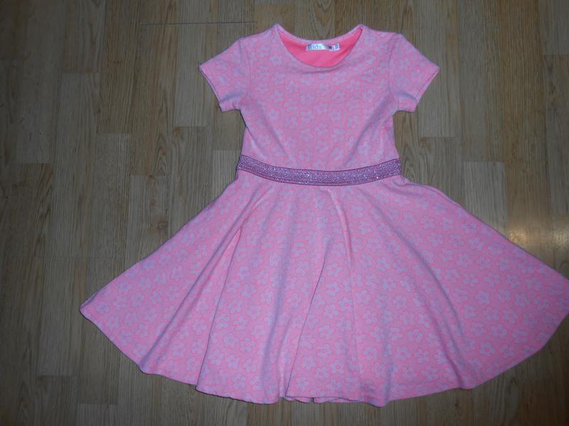 Платье на девочку 4-5 лет
