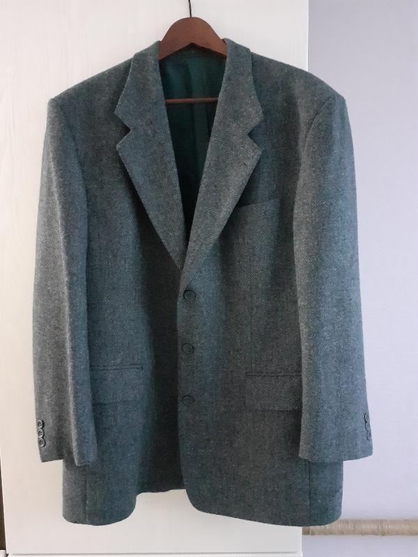 Пиджак серый, теплый