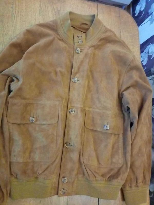 Куртка замшевая демисезоная