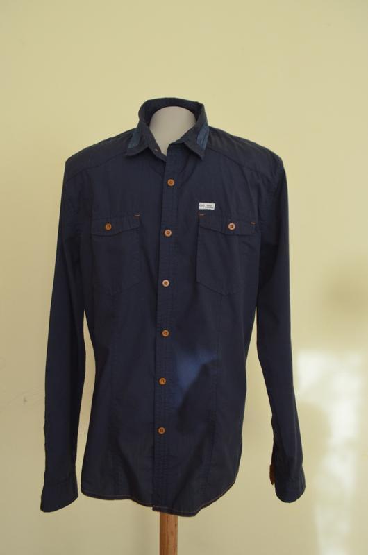 Шикарная брендовая стильная мужская рубашка