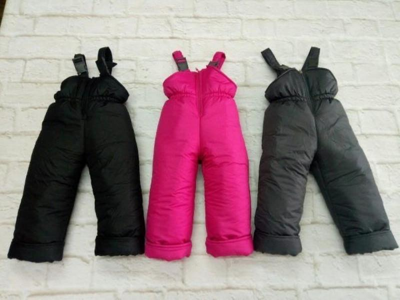 Наложенный платёж! тёплый полукомбинезон зимние штаны 1-7 лет