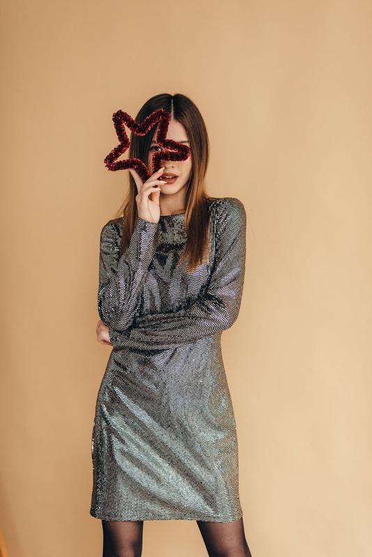 Роскошное платье на новый год