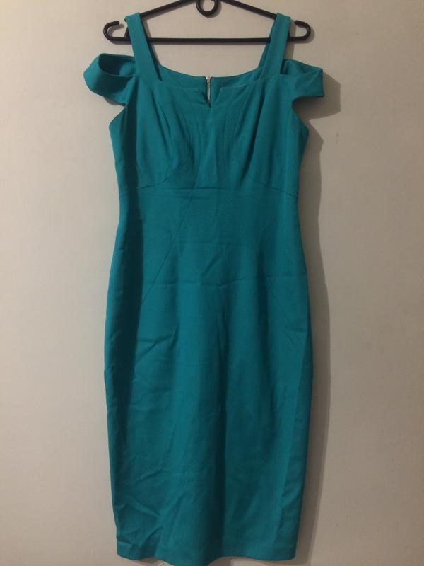 Coast платье сукня бирюзовое