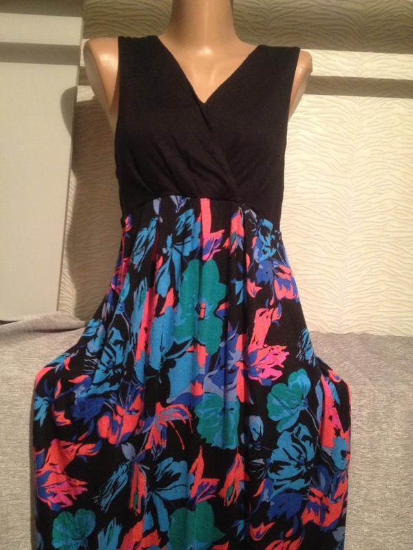Оригинальное платье сарафан в пол.291