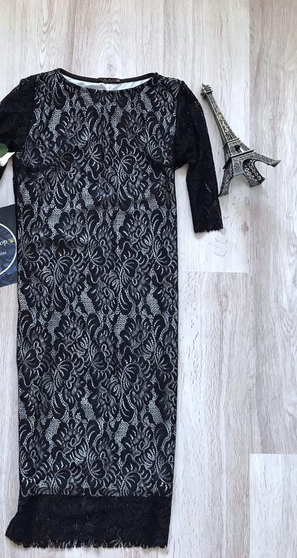 Новое кружевное нарядное платье,англия