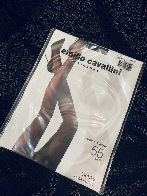 Колготки 55 den цвет эспрессо emilio cavalini