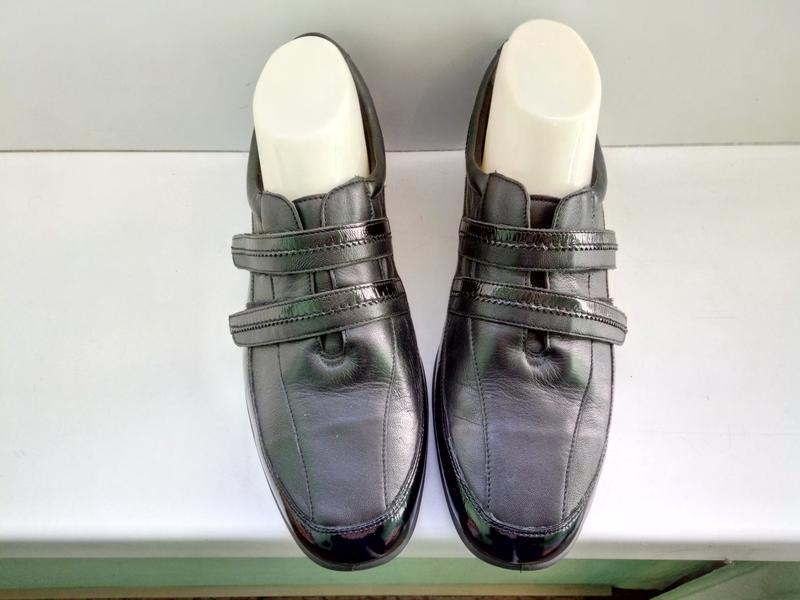 Туфли кожаные комфортные padders velvet, р. 39-39,5.