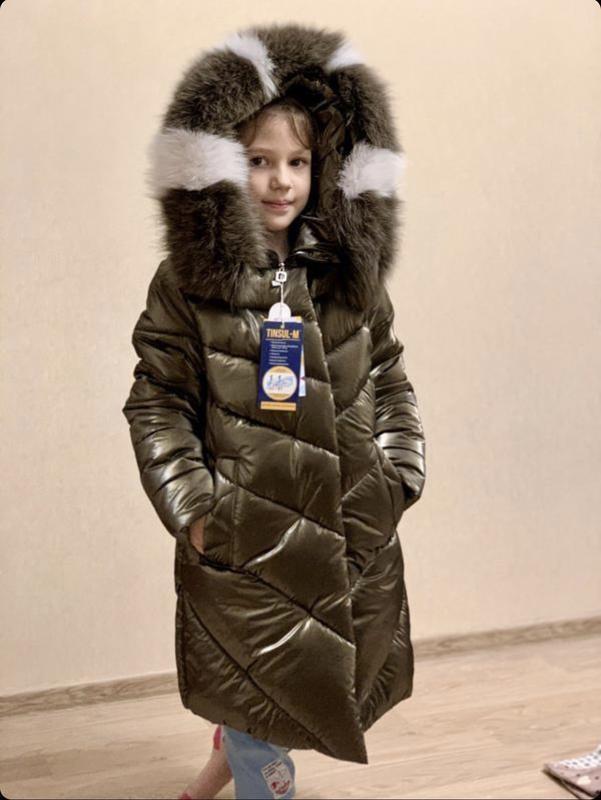 Шикарное пальто для девочки