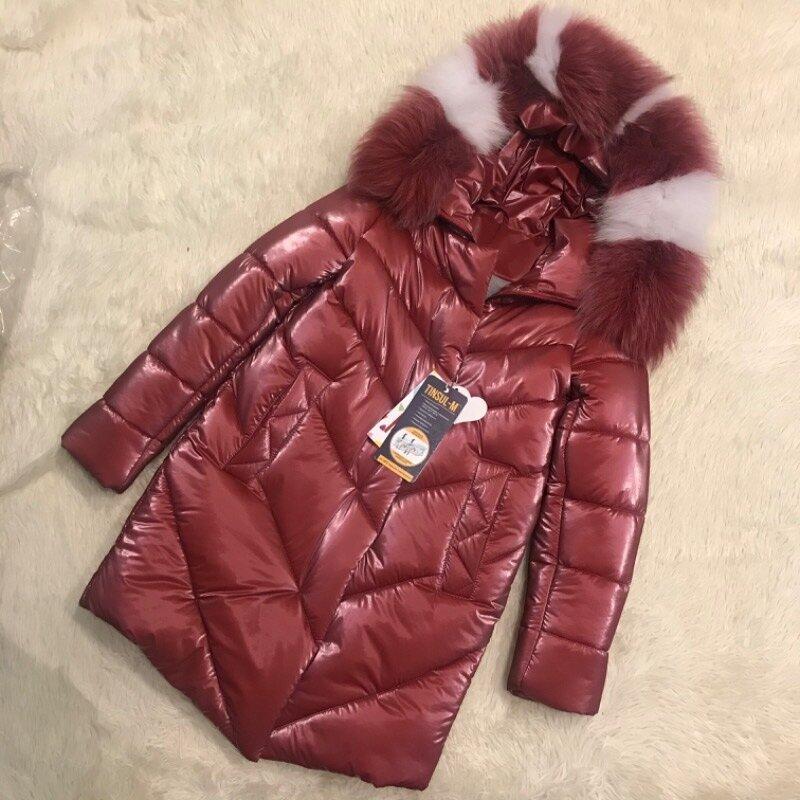 Шикарное тёплое пальто для девочек