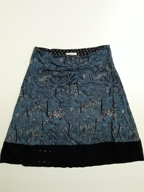 Фирменная трикотажная юбка