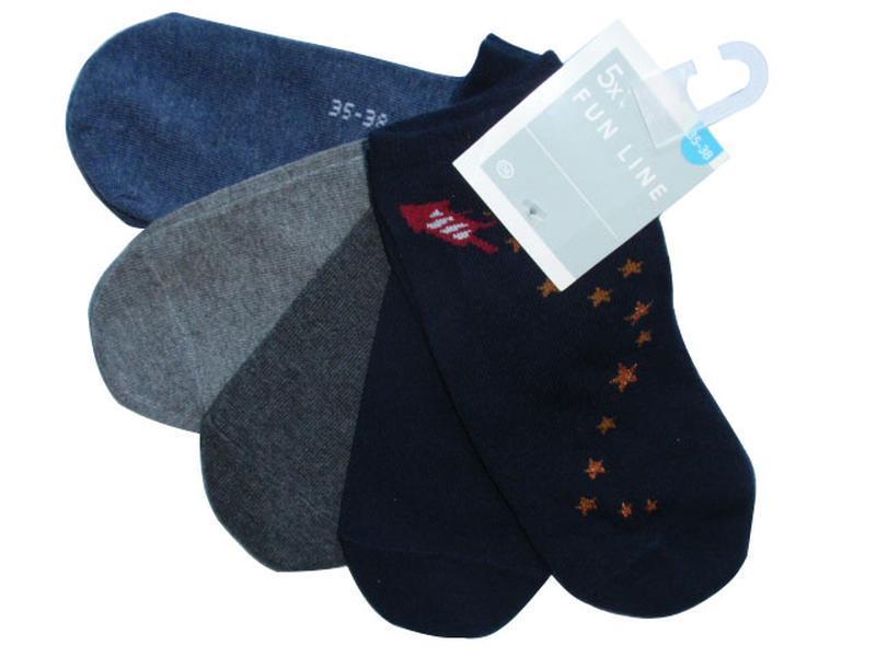 Набор носков 5 пар низкие носки женские хлопковые c&a германия...