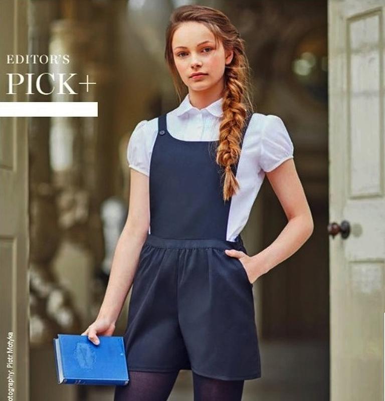 Стильный школьный комбинезон шортами marks & spencer на 15-16 лет