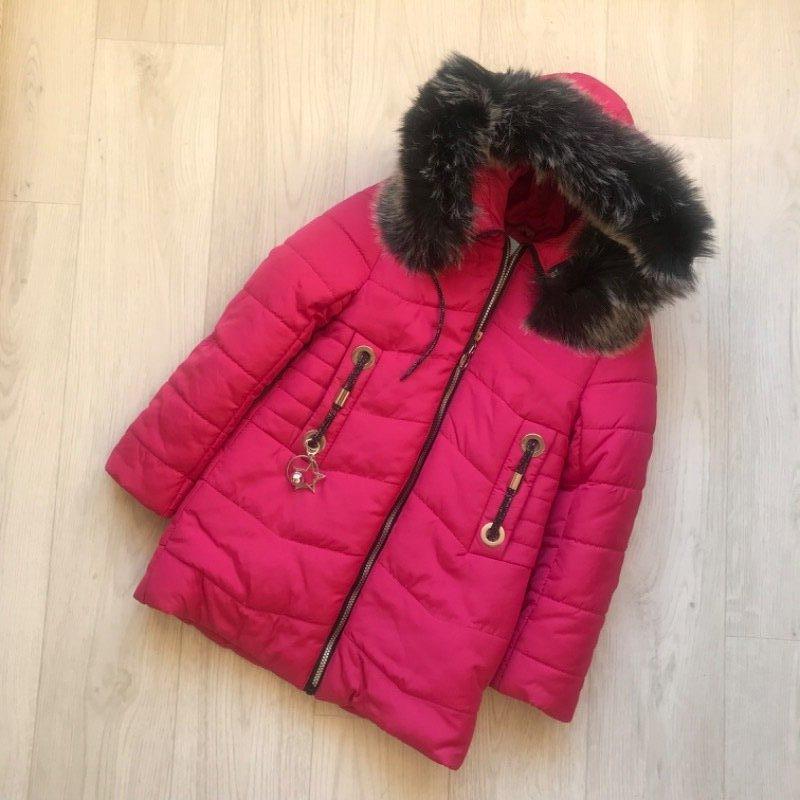 Внимание распродажа зимняя куртка для девочки