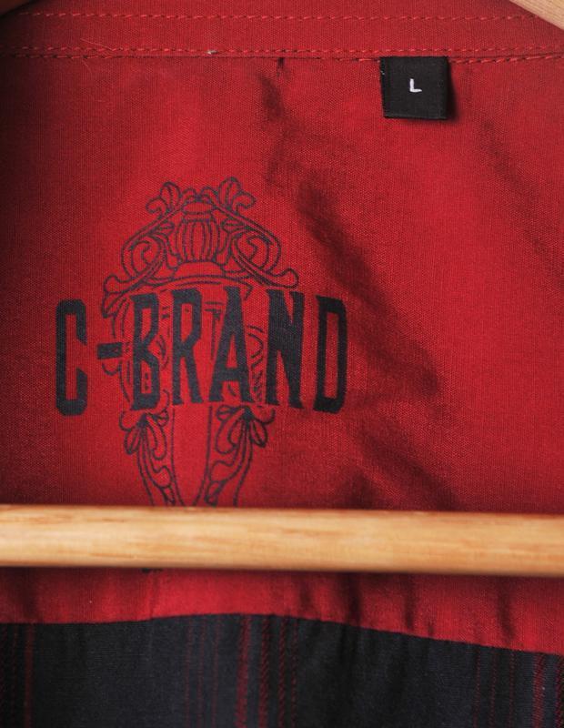 """Стильная рубашка """"c-brand"""" акция 1+1= 3 - Фото 5"""