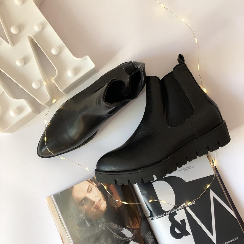 Ботинки с резинкой