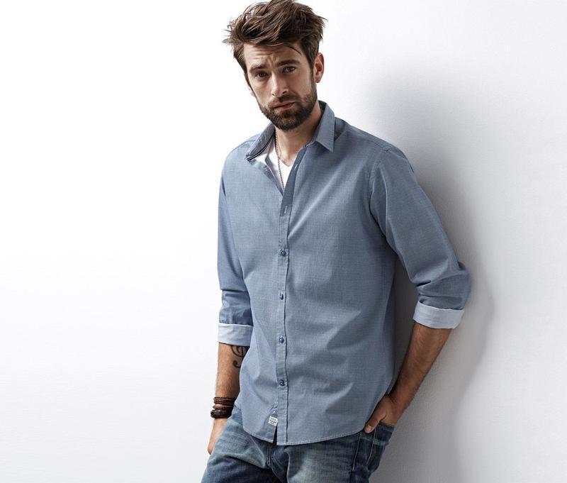 Рубашка мужская tchibo