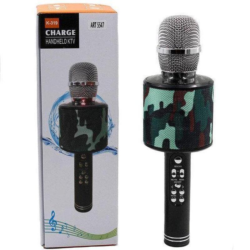 Микрофон караоке беспроводной UBL K319 - Фото 3