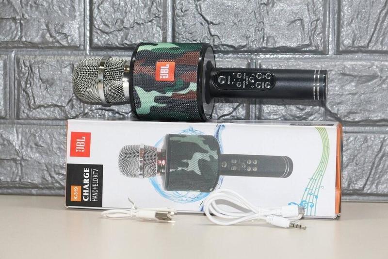 Микрофон караоке беспроводной UBL K319 - Фото 2