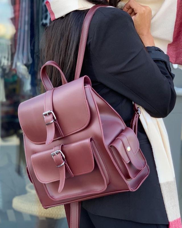 Рюкзак на длинной ручке cross-body рюкзак трендовый и стильный...