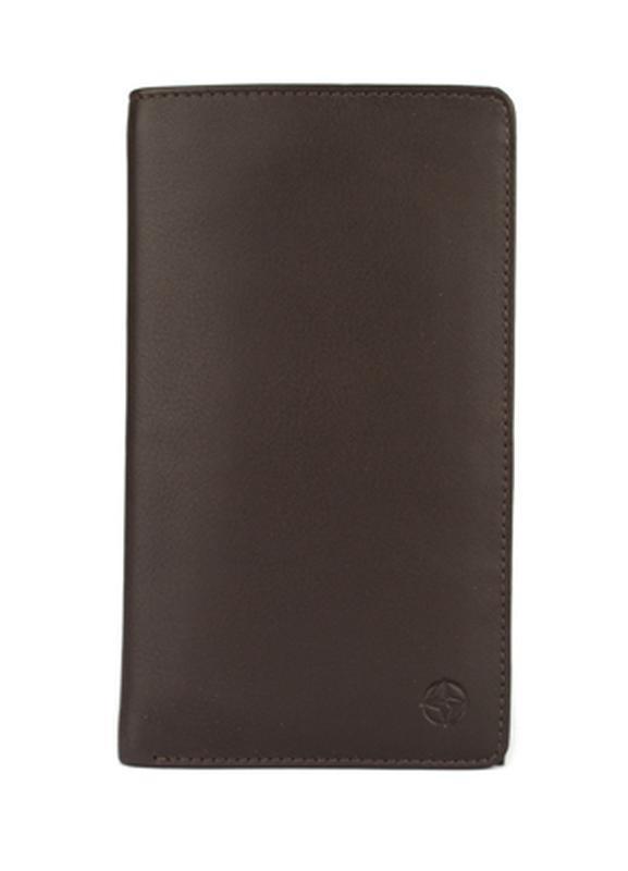 Мужское кожаное портмоне, купюрница tony perotti темно-коричне...