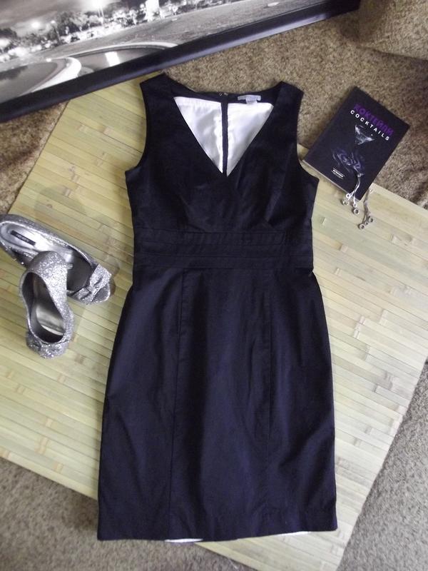 Элегантное черное платье h&m