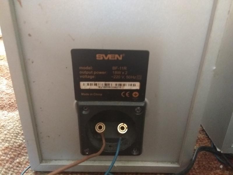 Акустическая система sven bf-11r - Фото 2