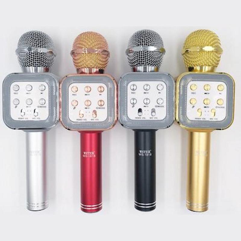 Беспроводной микрофон bluetooth WS 1818 - Фото 4