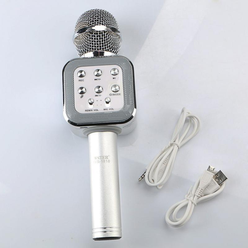 Беспроводной микрофон bluetooth WS 1818 - Фото 6