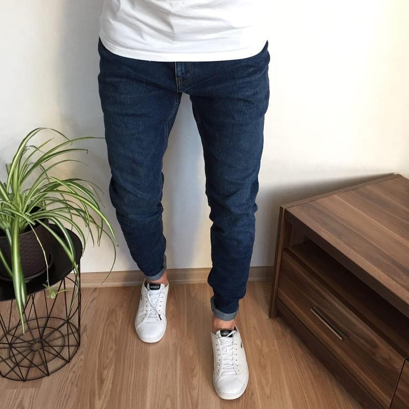 Стильные зауженные мужские джинсы next