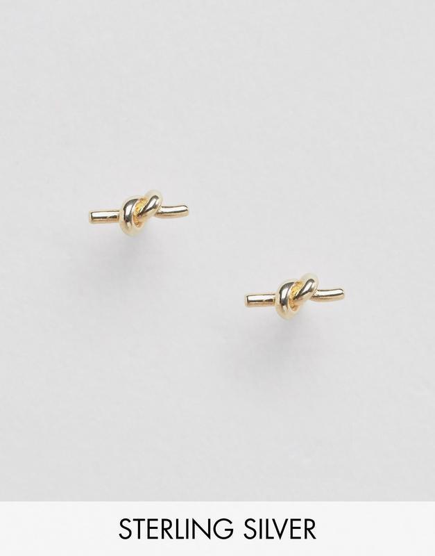 1+1=3 до 30/12 серебряные позолоченные серьги-гвоздики designb...