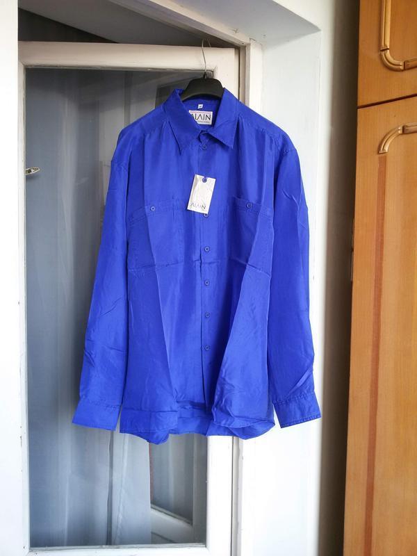 Яркая шелковая рубашка бойфренд оверсайз унисекс 100% шелк