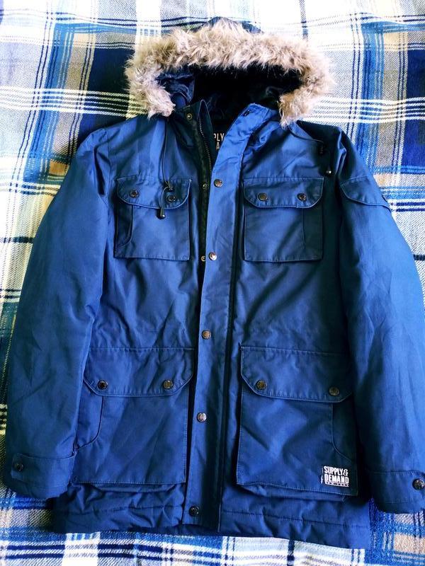 Куртка парка зимова