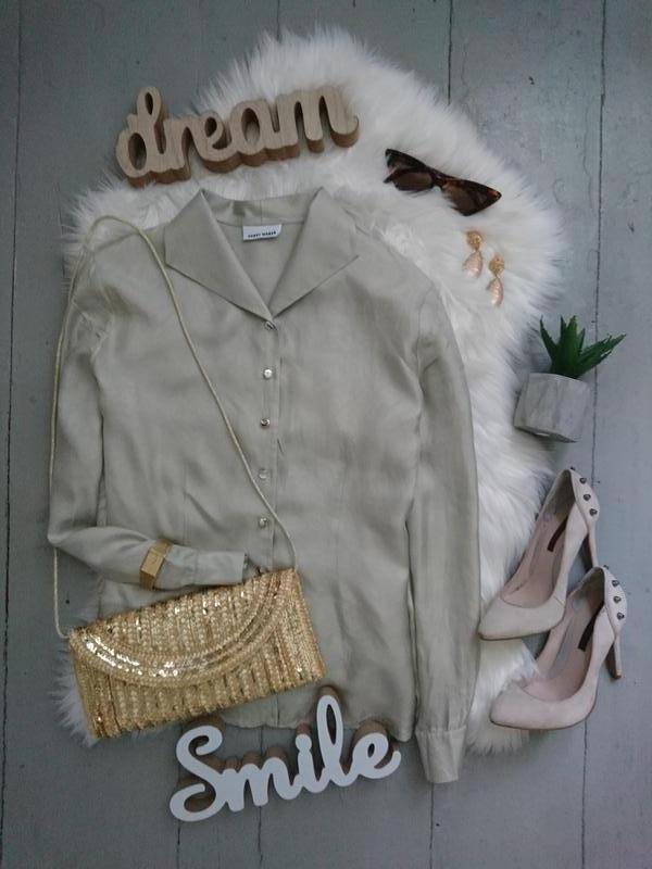 Нереальная актуальна винтажная шелковая блуза №8max