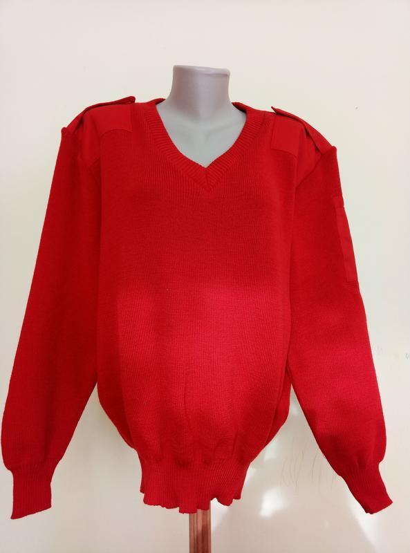 Теплый английский свитер шерсть