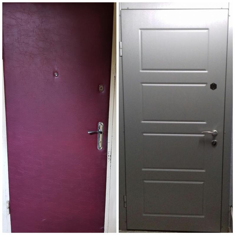 Реставрация, ремонт, обивка, обшивка, перетяжка дверей и врезк...