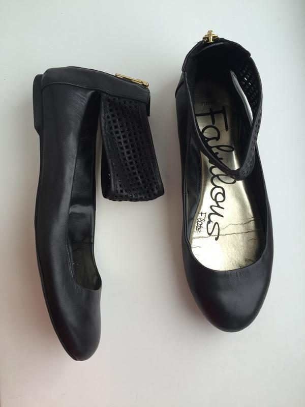 Кожаные балетки next 38 р. туфли