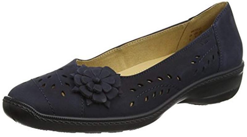 Кожаные туфли балетки hotter р. 42