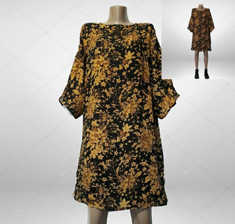 Платье в стиле ретро,оверсайз