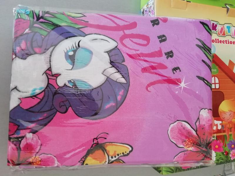 1,5 комплект постельного белья с детским рисунком