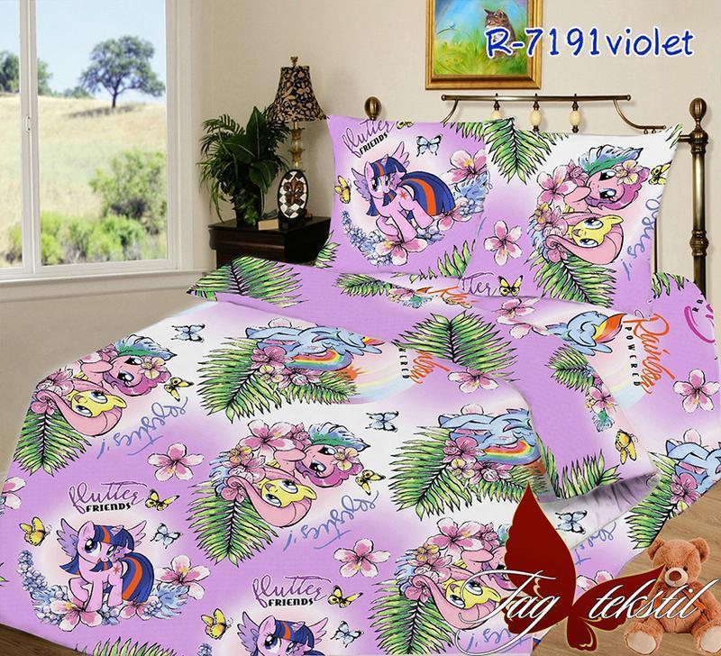 1,5 комплект постельного белья с детским рисунком - Фото 5