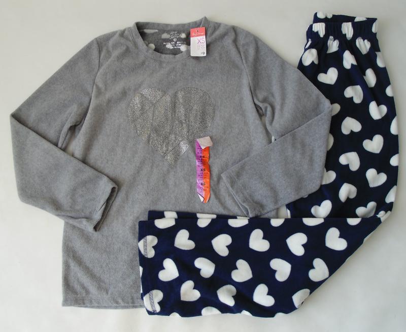 Пижамный свитер флис primark love to lounge англия 34-36, хс