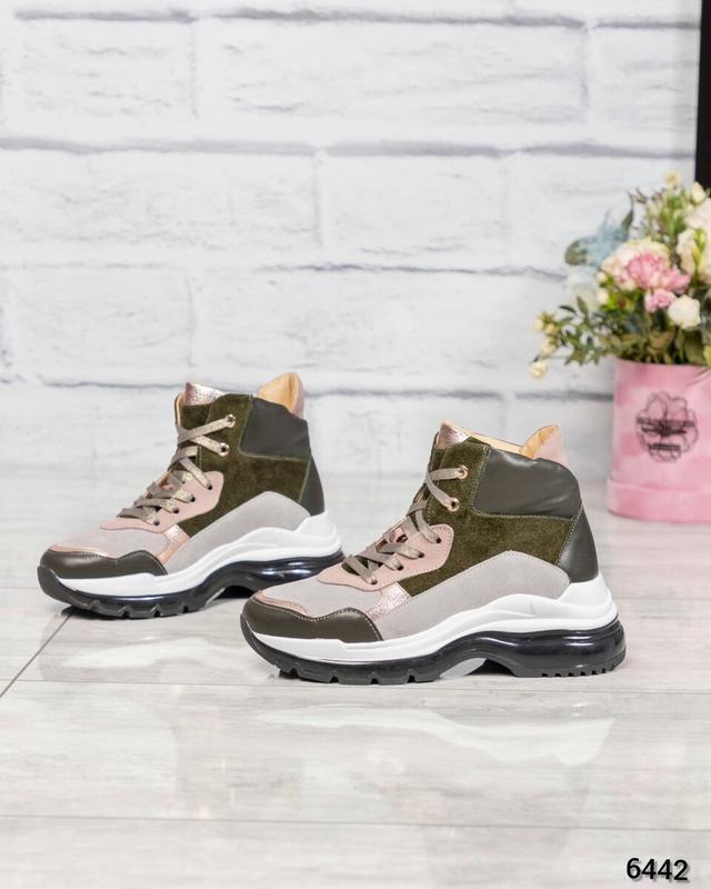 ❤ женские  зимние кожаные ботинки сапоги полусапожки ботильоны...