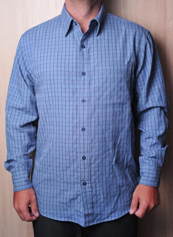 Стильная сине-фиолетовая рубашка bhs