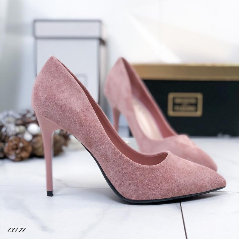 ❤ женские пудровые туфли ❤