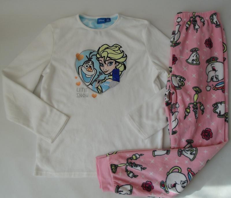 Пижама тонкий флис primark англия 12-13 лет 158