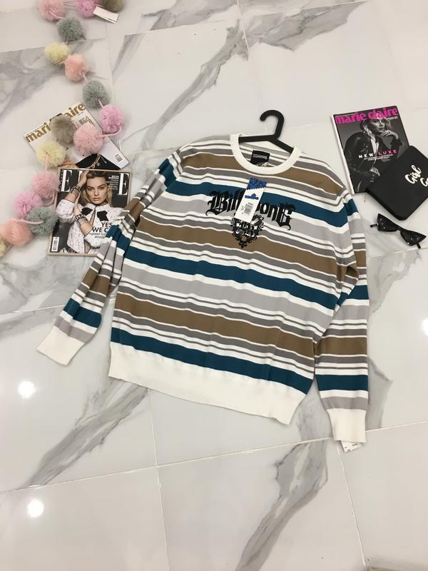 Billabong новый свитер в полоску