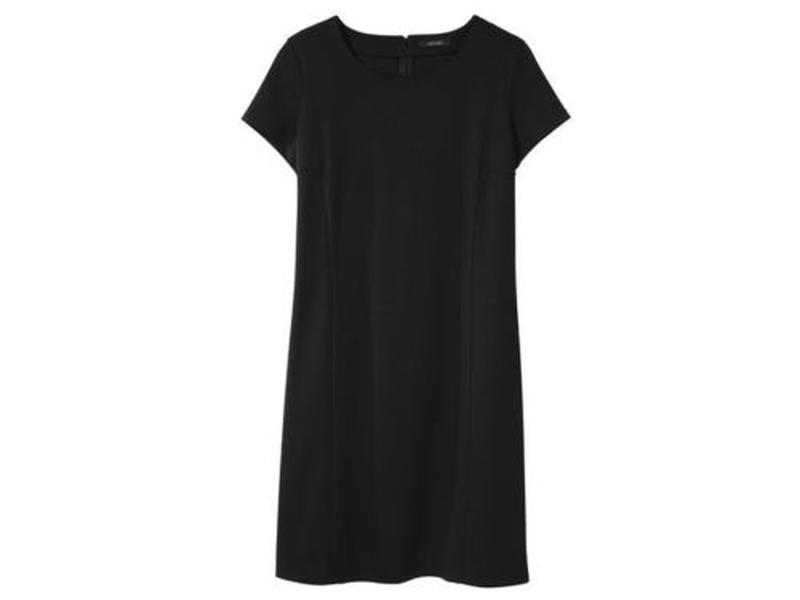 Стильное платье р.л  плотный трикотаж
