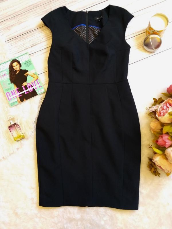 Классическое платье футляр размер 10-12 (42-44)