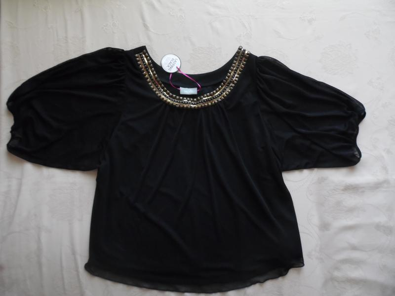 Блуза трикотаж wallis размер l(46) – реально идет на 54-54+