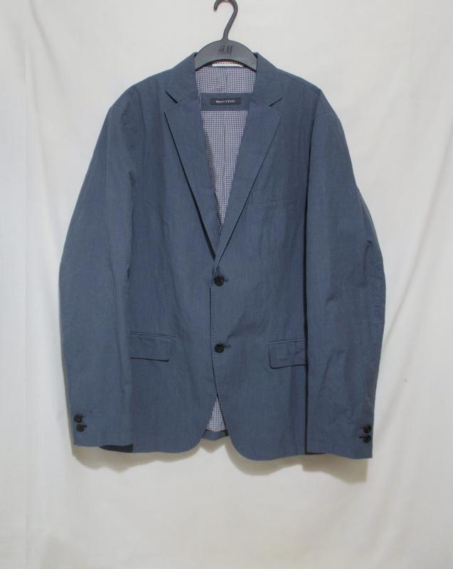 Новый пиджак темно-голубой хлопок 'marc o'polo' 54-56р